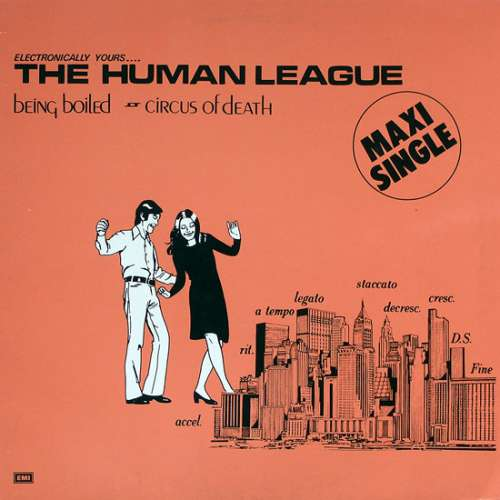 Cover The Human League - Being Boiled / Circus Of Death (12, Maxi, RE) Schallplatten Ankauf