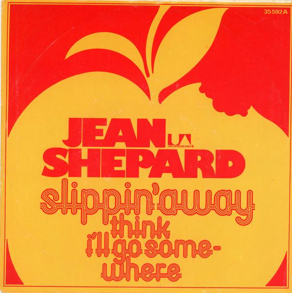 Cover Jean Shepard - Slippin' Away (7) Schallplatten Ankauf