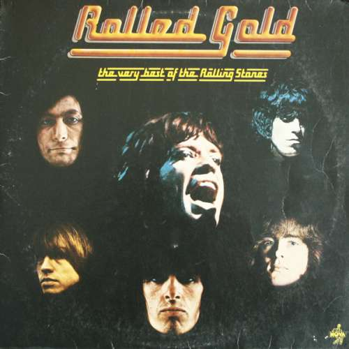 Cover zu Rolling Stones, The - Rolled Gold - The Very Best Of The Rolling Stones (2xLP, Comp, RE) Schallplatten Ankauf