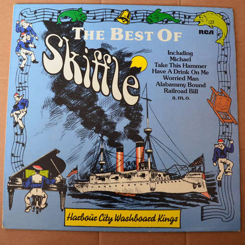 Cover zu Harbour City Washboard Kings - The Best Of Skiffle (LP, Comp) Schallplatten Ankauf