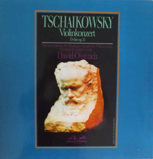 Cover zu Tschaikowsky*, David Oistrach, Sinfonieorchester Der Moskauer Staatlichen Philharmonie*, Gennadi Roshdestwensky* - Violinkonzert D-dur Op. 35 (LP, Album, Club, RE) Schallplatten Ankauf