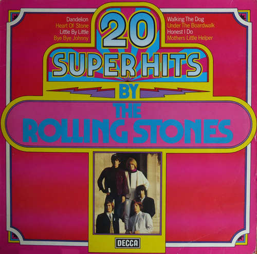 Cover The Rolling Stones - 20 Super Hits By The Rolling Stones (LP, Comp) Schallplatten Ankauf