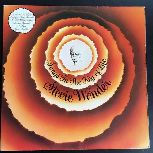 Cover Stevie Wonder - Songs In The Key Of Life (2xLP, Bla + 7, EP + Album, Gat) Schallplatten Ankauf