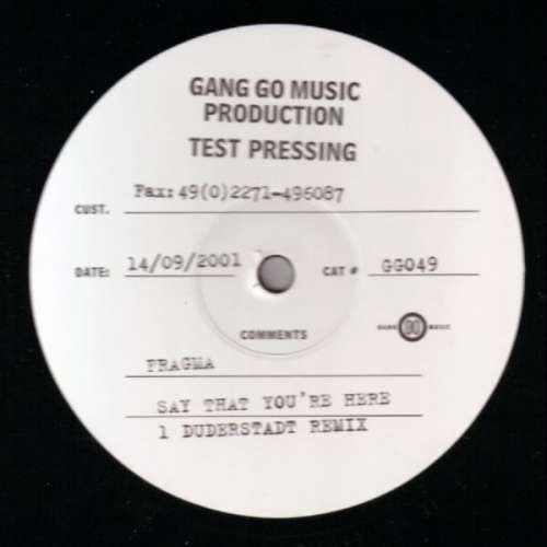 Bild Fragma - Say That You're Here (12, TP) Schallplatten Ankauf