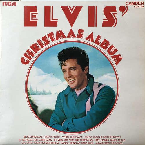 Cover Elvis Presley - Elvis' Christmas Album (LP, Album, RE) Schallplatten Ankauf