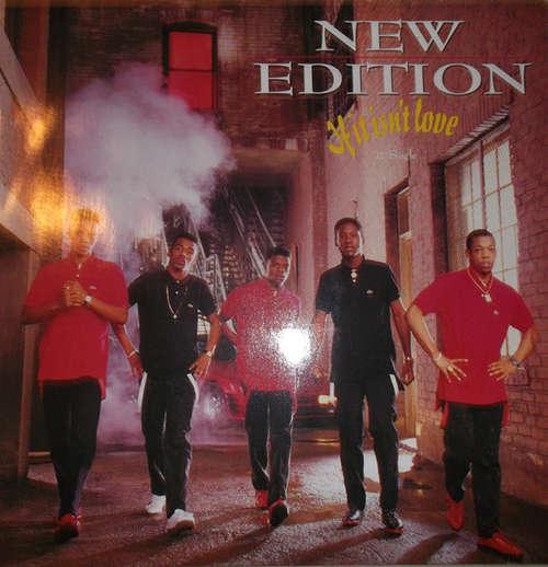 Cover New Edition - If It Isn't Love (12) Schallplatten Ankauf