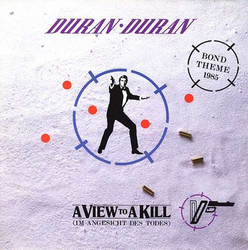 Cover zu Duran Duran - A View To A Kill (Im Angesicht Des Todes) (7, Single) Schallplatten Ankauf