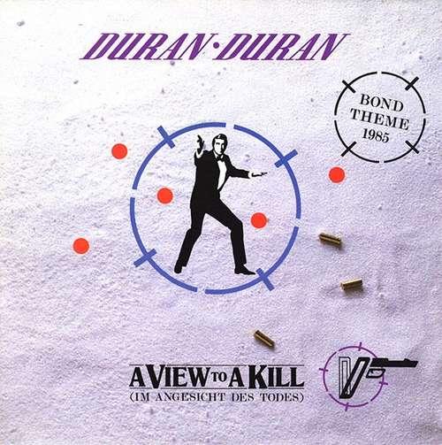 Cover Duran Duran - A View To A Kill (Im Angesicht Des Todes) (7, Single) Schallplatten Ankauf