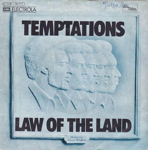 Bild The Temptations - Law Of The Land  (7, Single, RE) Schallplatten Ankauf
