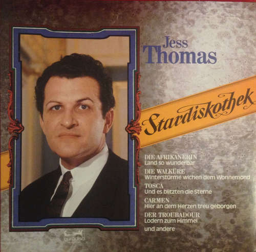 Cover Jess Thomas - Stardiskothek (LP, Comp) Schallplatten Ankauf