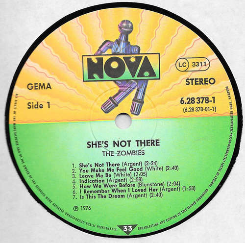 Bild The Zombies - She's Not There (2xLP, Comp) Schallplatten Ankauf