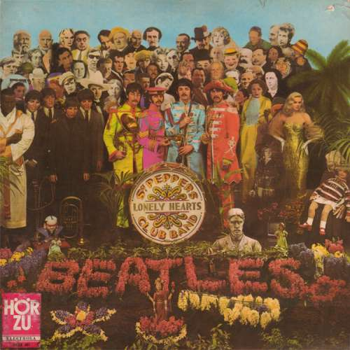 Cover The Beatles - Sgt. Pepper's Lonely Hearts Club Band (LP, Album) Schallplatten Ankauf