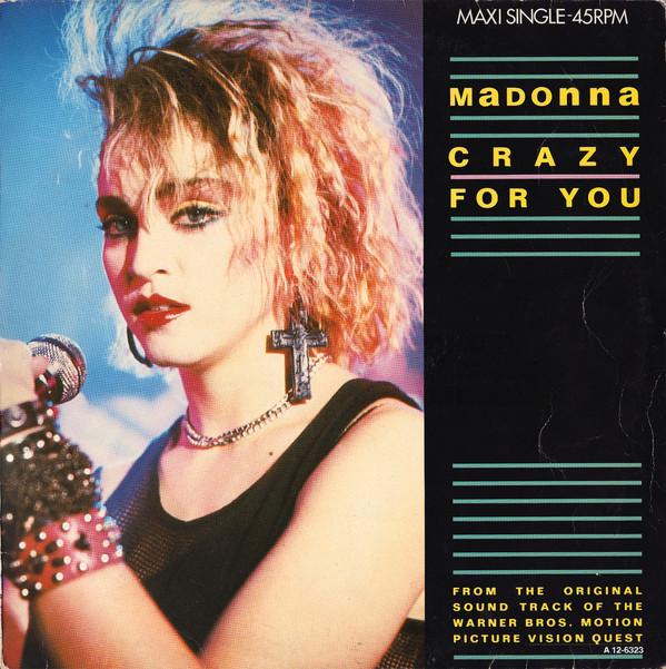Bild Madonna - Crazy For You (12, Maxi) Schallplatten Ankauf