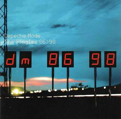 Cover Depeche Mode - The Singles 86>98 (2xCD, Comp) Schallplatten Ankauf