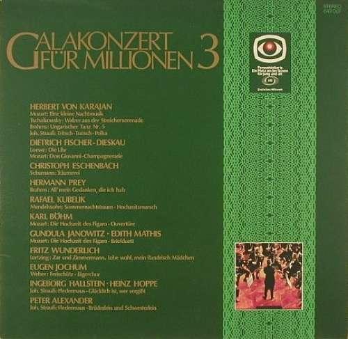 Cover zu Various - Galakonzert Für Millionen 3 (LP, Comp) Schallplatten Ankauf