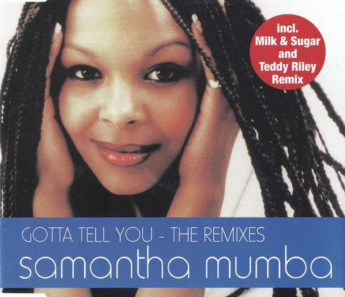Cover zu Samantha Mumba - Gotta Tell You - The Remixes (CD, Maxi) Schallplatten Ankauf