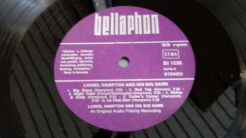 Bild Lionel Hampton & His Big Band - Lionel Hampton And His Big Band (LP) Schallplatten Ankauf