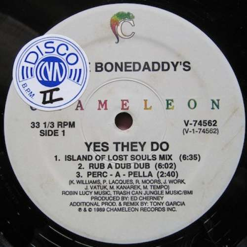 Bild The Bonedaddy's - Yes They Do (12) Schallplatten Ankauf