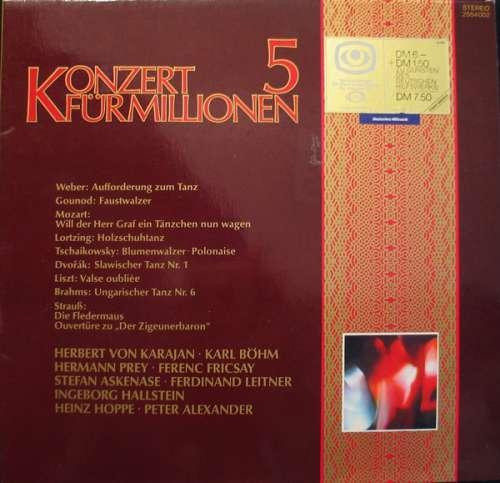 Bild Various - Konzert Für Millionen 5 (LP, Comp) Schallplatten Ankauf