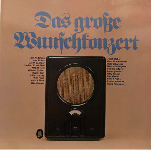 Bild Various - Das Große Wunschkonzert (2xLP, Comp, Smplr, Gat) Schallplatten Ankauf