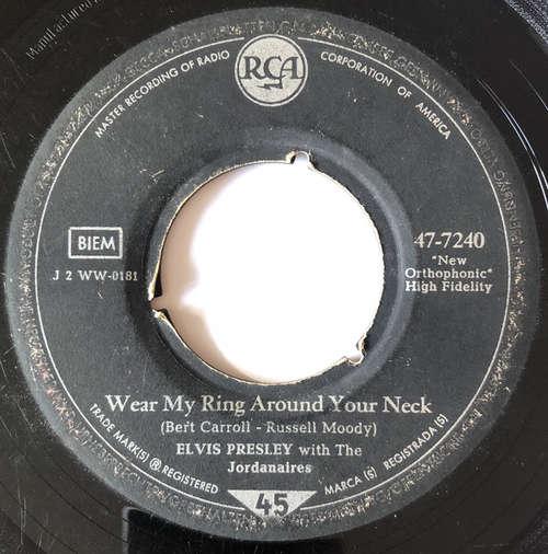 Cover Elvis Presley - Wear My Ring Around Your Neck / Doncha' Think It's Time (7, Single) Schallplatten Ankauf