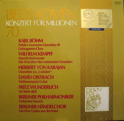 Cover zu Beethoven* - Konzert Für Millionen 70 (LP, Comp) Schallplatten Ankauf