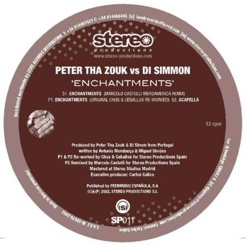 Cover Peter Tha Zouk* vs. Di Simmon - Enchantments (12) Schallplatten Ankauf