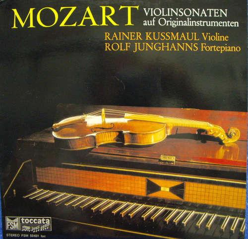 Bild Mozart*, Rainer Kussmaul, Rolf Junghanns - Violinsonaten Auf Originalinstrumenten (LP) Schallplatten Ankauf