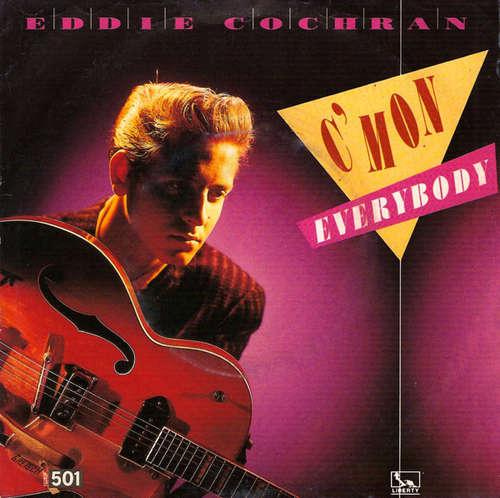 Bild Eddie Cochran - C'Mon Everybody (7, Single, Mono) Schallplatten Ankauf