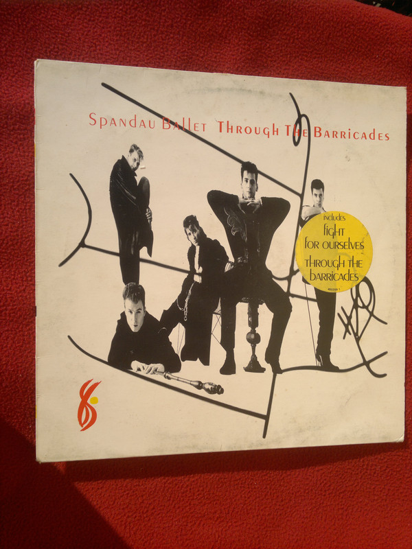 Bild Spandau Ballet - Through The Barricades (LP, Album, Pos) Schallplatten Ankauf