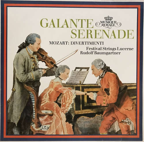 Cover zu Mozart*, Rudolf Baumgartner, Festival Strings Lucerne - Galanter Serenade Mozart: Divertimenti (LP) Schallplatten Ankauf