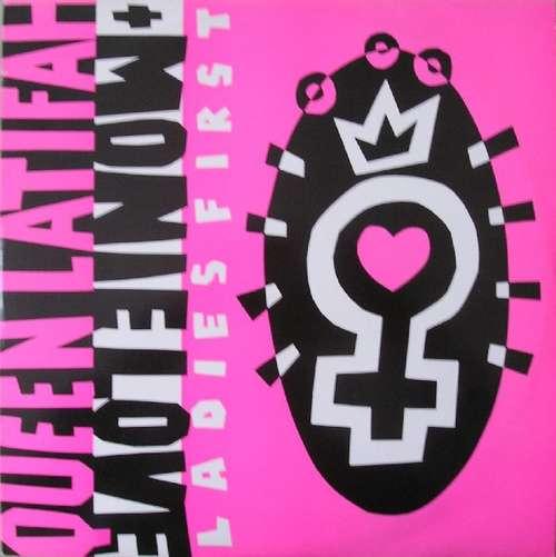 Cover Queen Latifah + Monie Love - Ladies First (12) Schallplatten Ankauf