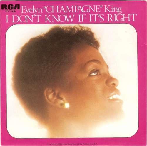 Bild Evelyn Champagne King* - I Don't Know If It's Right (7, Single) Schallplatten Ankauf