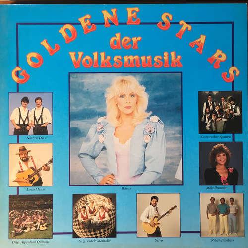 Cover zu Various - Goldene Stars Der Volksmusik (LP, Comp) Schallplatten Ankauf