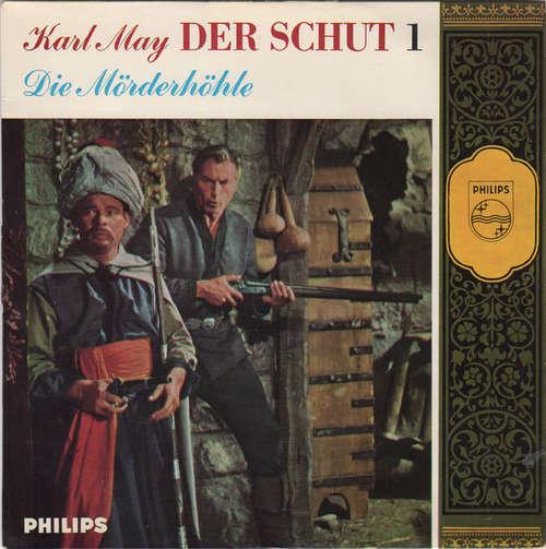 Cover zu Karl May - Der Schut - Die Mörderhöhle (7, EP, Mono) Schallplatten Ankauf