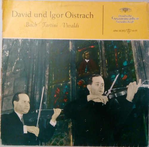 Bild David* Und Igor Oistrach - Bach – Tartini – Vivaldi (LP, Mono) Schallplatten Ankauf