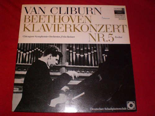 Cover zu Ludwig van Beethoven, Van Cliburn - Klavierkonzert Nr. 5 Es-Dur (LP, Club) Schallplatten Ankauf