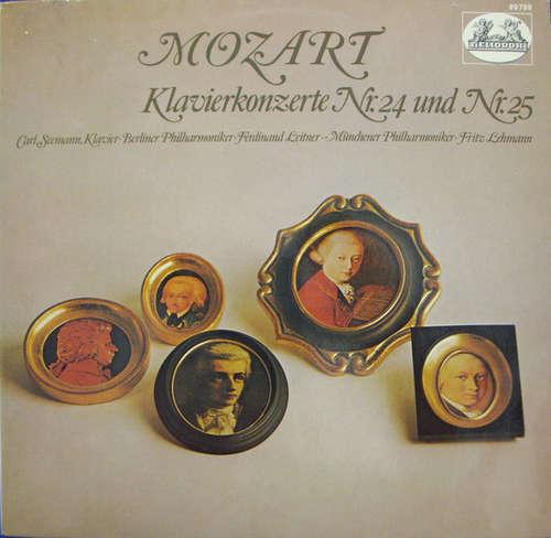 Bild Mozart*, Carl Seemann, Berliner Philharmoniker, Münchner Philharmoniker, Ferdinand Leitner, Fritz Lehmann - Klavierkonzerte Nr. 24 Und Nr. 25 (LP, Comp, Ste) Schallplatten Ankauf