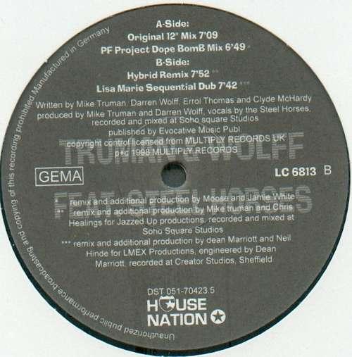 Bild Truman & Wolff Feat. Steel Horses - Come Again (12) Schallplatten Ankauf