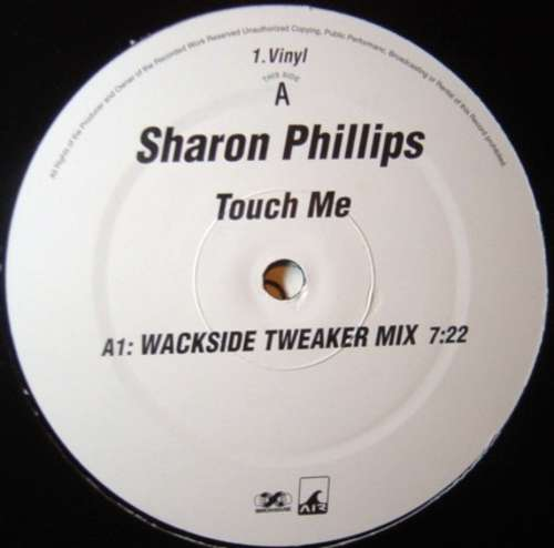 Cover zu Sharon Phillips - Touch Me (2x12) Schallplatten Ankauf