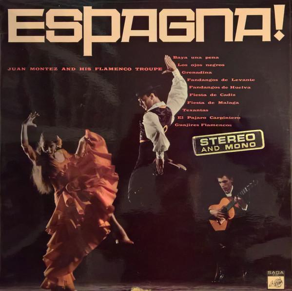Cover zu Juan Montez and his Flamenco troupe - Espagna! (LP, Album, Mono) Schallplatten Ankauf