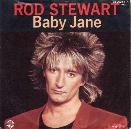 Cover Rod Stewart - Baby Jane (7, Single) Schallplatten Ankauf