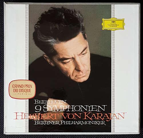 Cover Beethoven*, Herbert von Karajan, Berliner Philharmoniker - 9 Symphonien (8xLP, Mono + Box) Schallplatten Ankauf