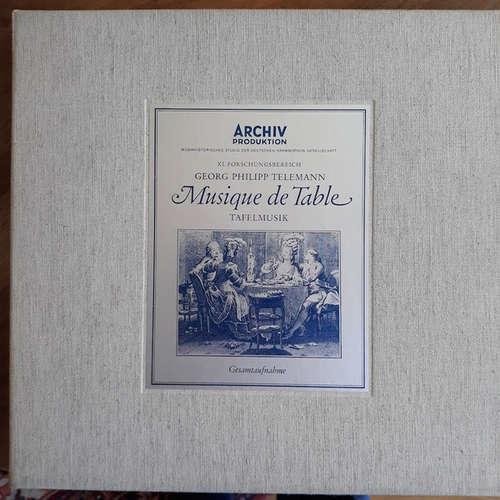 Cover Georg Philipp Telemann - Musique De Table = Tafelmusik (Gesamtaufnahme) (2xLP + Box, Album) Schallplatten Ankauf