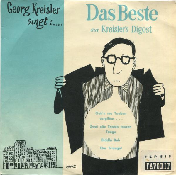 Cover Georg Kreisler - Das Beste Aus Kreisler's Digest (7, EP, RP) Schallplatten Ankauf