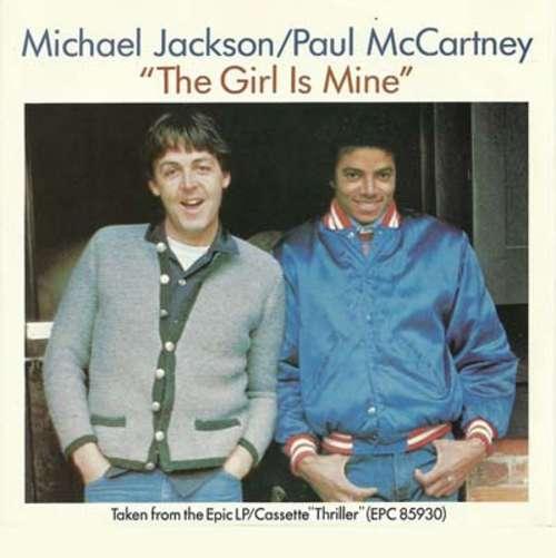 Cover Michael Jackson / Paul McCartney - The Girl Is Mine (7, Single) Schallplatten Ankauf