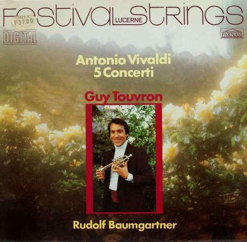 Cover zu Festival Strings Lucerne - Guy Touvron, Rudolf Baumgartner - Antonio Vivaldi - 5 Concerti (LP) Schallplatten Ankauf