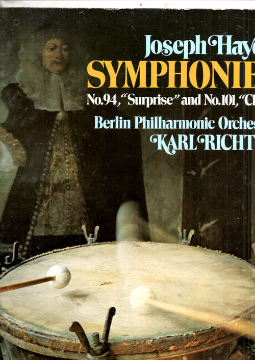 Cover Joseph Haydn - Symphonies No.94, Surprise Ans No.101, Clock (LP) Schallplatten Ankauf