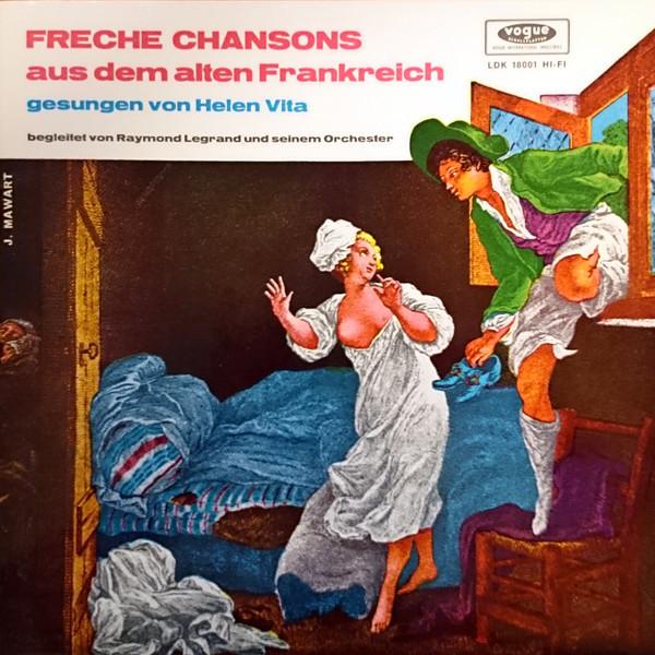 Bild Helen Vita - Freche Chansons Aus Dem Alten Frankreich (LP, Album, Mono) Schallplatten Ankauf