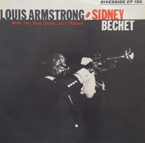 Bild Louis Armstrong And Sidney Bechet With The Red Onion Jazz Babies - Louis Armstrong And Sidney Bechet (7, EP) Schallplatten Ankauf
